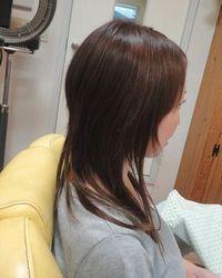 髪型 ロング ストレート ウルフ